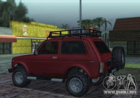 Niva 2121 4x4 Offroad para GTA San Andreas left