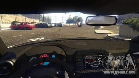 GTA 5 Nissan GTR Nismo 2017 vista lateral derecha