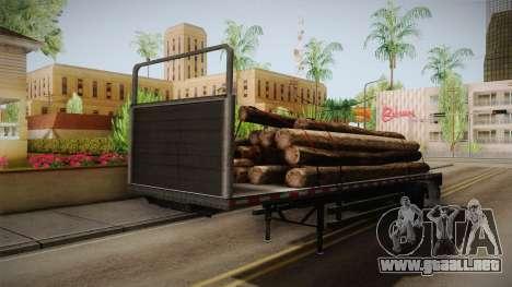 GTA 5 Log Trailer v2 IVF para la visión correcta GTA San Andreas
