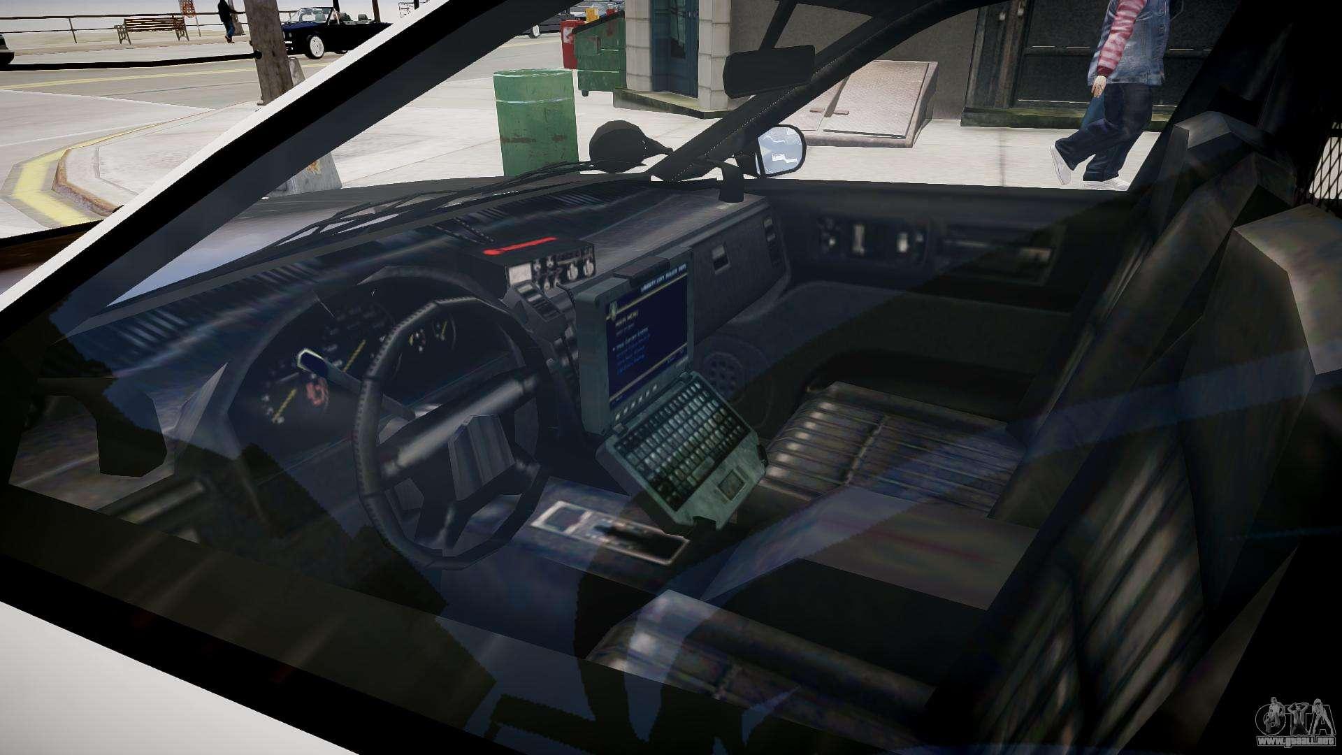 el coche de la polic a de gta v para gta 4. Black Bedroom Furniture Sets. Home Design Ideas