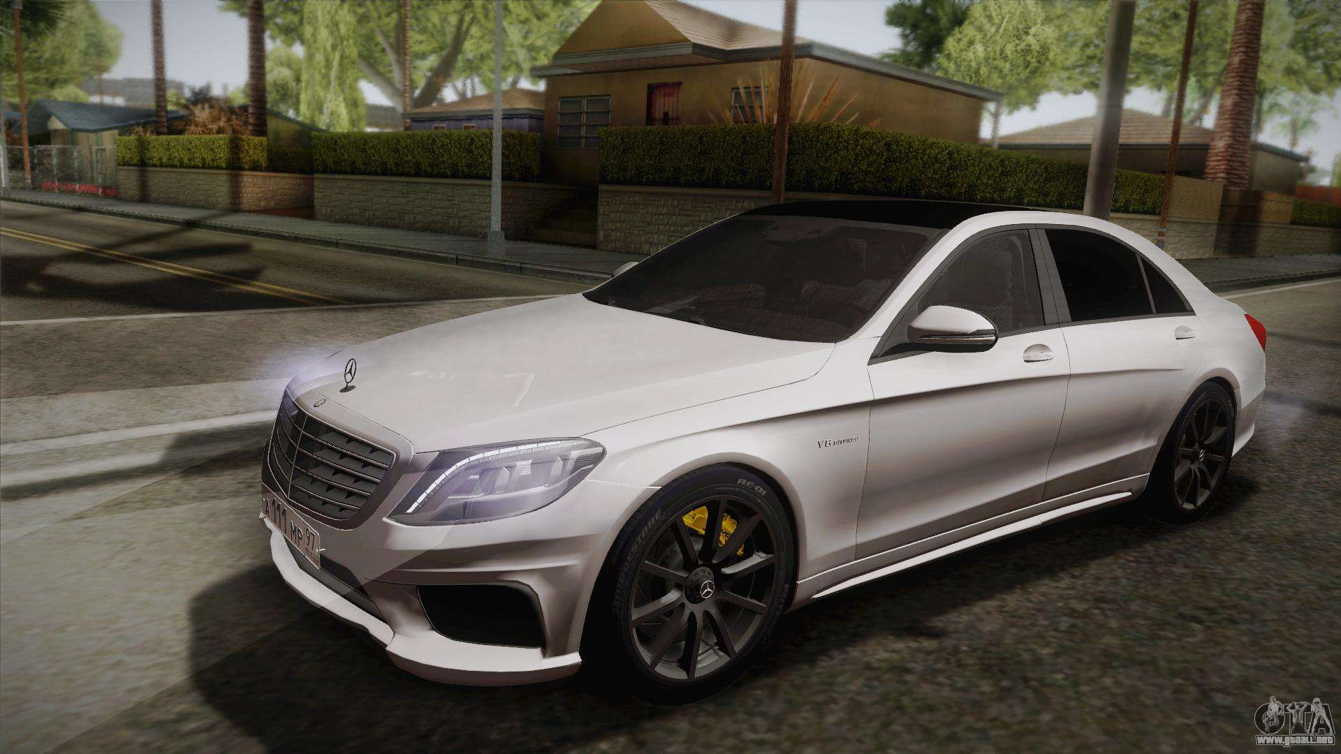 Mercedes benz s63 amg w222 para gta san andreas for Mercedes benz in glendale