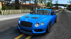 Bentley Continental GT3-R 2015 para GTA San Andreas