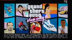 GTA Vice City Boot screens para GTA San Andreas