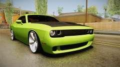 Dodge Challenger Hellcat 2015 para GTA San Andreas
