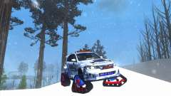 Subaru Impreza WRX STi Snow