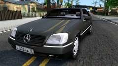 Mercedes-Benz 600SEC 1993 para GTA San Andreas