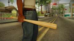 Wooden Bat para GTA San Andreas