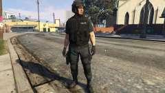 LSPD SWAT Ped Model 1.2.2 para GTA 5