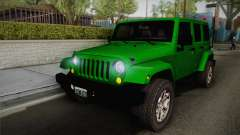 Jeep Wrangler Unlimited Rubicon 2013 para GTA San Andreas