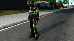 Kawasaki Racing Suit para GTA San Andreas