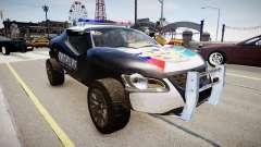 VW Concept T Police para GTA 4