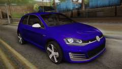 Volkswagen Golf 7R 2015 Beta V1.00 para GTA San Andreas