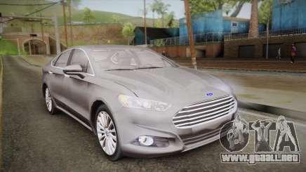 Ford Fusion Titanium 2014 para GTA San Andreas