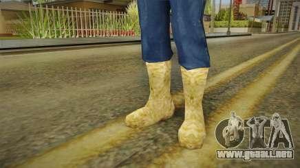 Botas de invierno para GTA San Andreas