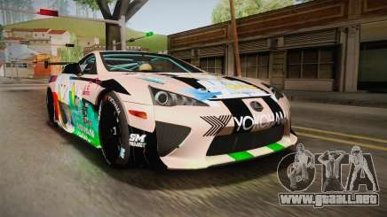Lexus LFA Felix The Brown of ReZero para GTA San Andreas