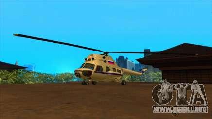 El helicóptero de la policía de la Federación para GTA San Andreas