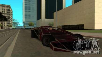 Bf Buggy Ramp para GTA San Andreas