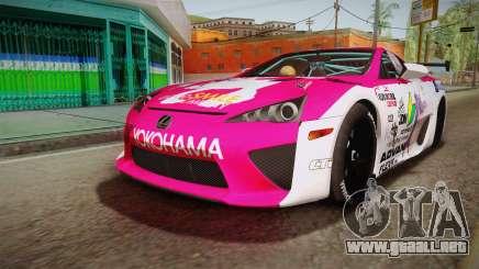 Lexus LFA Ram The Red of ReZero para GTA San Andreas