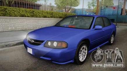 Chevrolet Impala 2004 Detective Unmarked para GTA San Andreas
