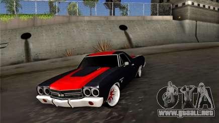 Chevrolet Camino SS 1970 para GTA San Andreas