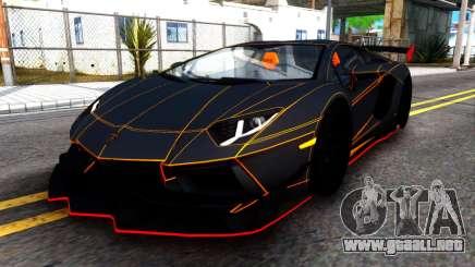 Lamborghini Aventador DMC LP988 para GTA San Andreas