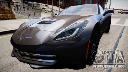 Chevrolet Corvette C7 para GTA 4