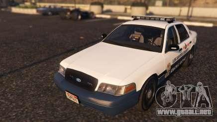 Marked K-9 Unit 2011 para GTA 5