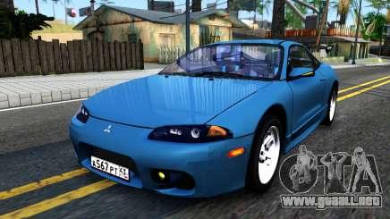 Mitsubishi Eclipse turquesa para GTA San Andreas