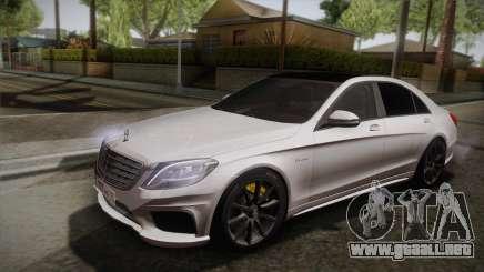 Mercedes-Benz S63 AMG W222 para GTA San Andreas