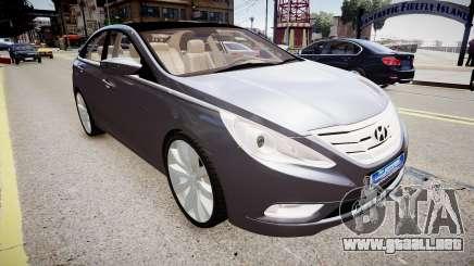 Hyundai Sonata v2 2011 para GTA 4