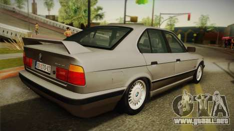 BMW 525i E34 para GTA San Andreas left