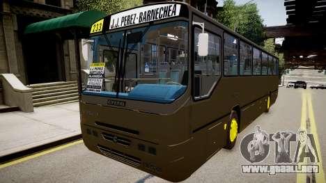 Volvo B10M para GTA 4