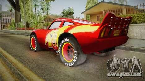 Cars 3 - McQueen para GTA San Andreas left