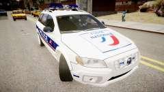 Volvo Police National para GTA 4