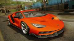 Lamborghini Centenario LP770-4 2017 Painted Body para GTA San Andreas
