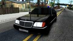 Mercedes-Benz W140 400SE para GTA San Andreas