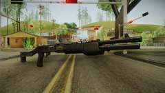 SPAS-12 Long Barrel and Magazine para GTA San Andreas