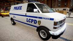 LCPD Declasse Burrito Police Transporter para GTA 4