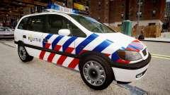 Opel Zafira Police para GTA 4