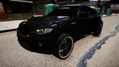 BMW X6 Hamann v2.0 para GTA 4