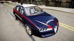 Alfa Romeo 159 Carabinieri para GTA 4