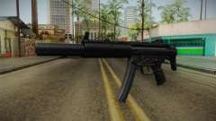MP5 SD3 para GTA San Andreas