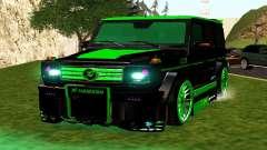 MERCEDES-BENZ G65 GELENDWAGEN AMG para GTA San Andreas
