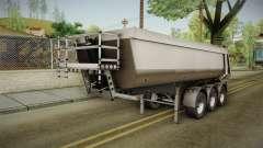 Iveco Trakker Hi-Land v3.0 Trailer para GTA San Andreas