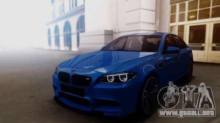 BMW M5 F10 2015 para GTA San Andreas