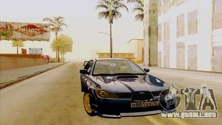 Subaru Impreza WRX STI para GTA San Andreas