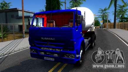 KamAZ 65115 Camión Mezclador De Concreto para GTA San Andreas