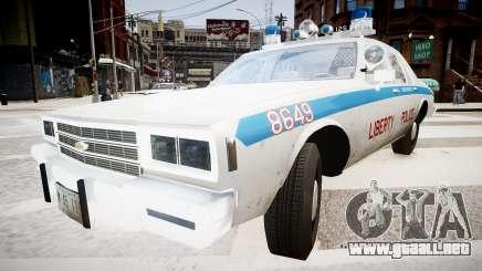 Chevrolet Impala Chicago Police para GTA 4