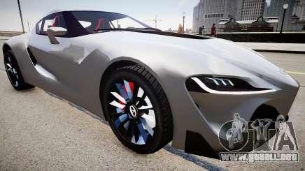 Toyota FTO-1 Concept 2014 para GTA 4