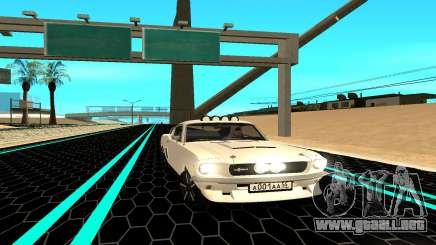 Shelby Mustang GT500 para GTA San Andreas